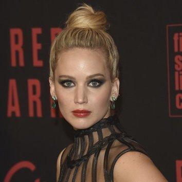 Jennifer Lawrence y su desacierto con el maquillaje