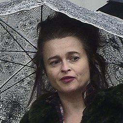 Helena Bonham con un peinado desastroso