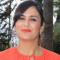 Elena Sánchez con un make up de lo más alegre
