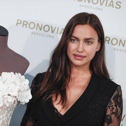 Irina Shayk con un maquillaje muy natural