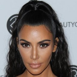 El make up nude de Kim Kardashian