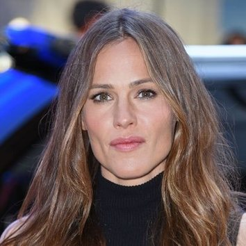 Jennifer Garner, fiel a lo natural
