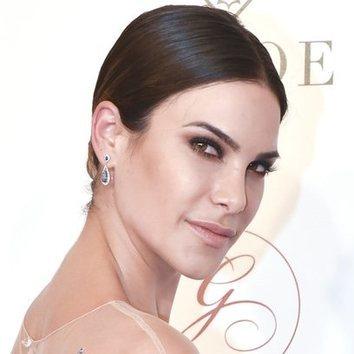 Carla Barber con un increíble maquillaje