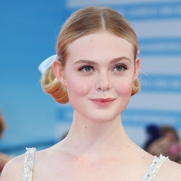 Elle Fanning, look angelical