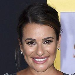 Lea Michele, muy correcta con su beauty