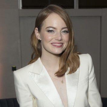 Emma Stone, glitter para los ojos