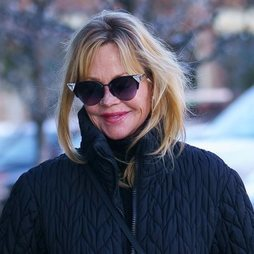 El look descuidado de Melanie Griffith