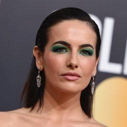 La mirada verde esmeralda de Camilla Belle