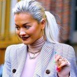 El sencillo maquillaje de Rita Ora