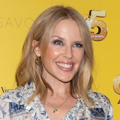 Kylie Minogue muy deslumbrante