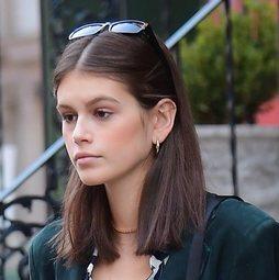 Kaia Gerber, divina hasta sin maquillaje