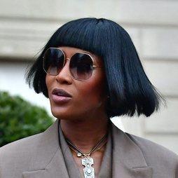 Naomi Campbell cambia de look