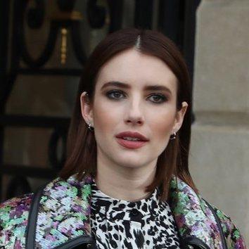 El exagerado beauty look de Emma Roberts