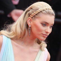 Elsa Hosk y su beauty look de inspiración nupcial