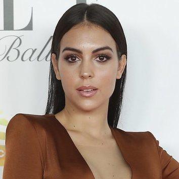 La mirada dramática de Georgina Rodríguez