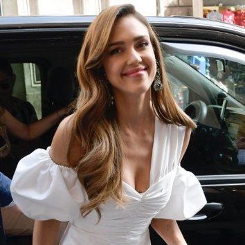 El peinado perfecto de Jessica Alba para verano