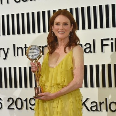 La elección 'no make up' de Julianne Moore