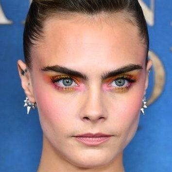 El maquillaje de cuento de hadas de Cara Delevingne