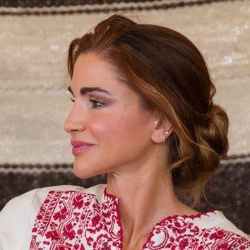 El moño de bailarina de Rania de Jordania