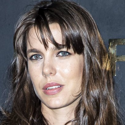El look rockero de Carlota Casiraghi en el desfile de Saint Laurent