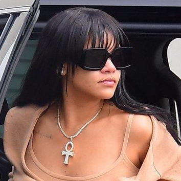 Rihanna vuelve a lucir flequillo por las calles de Nueva York