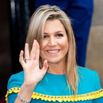 El beauty look effortless -pero muy favorecedor- de Máxima de Holanda