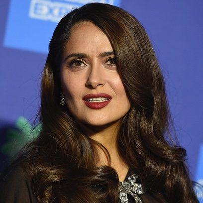 El beauty look más sexy de Salma Hayek