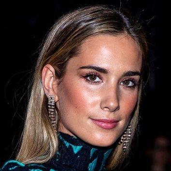 María Pombo con un beauty look inspirador