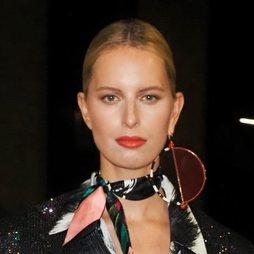 Karolina Kurkova, fiel aliada del labial rojo