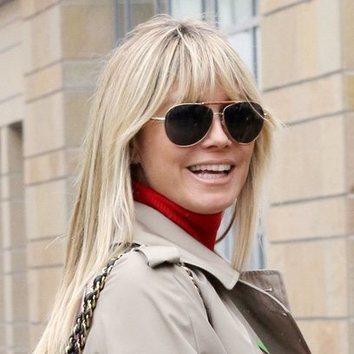 Heidi Klum con un beauty look de lo más básico