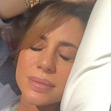 El maquillaje de Elena Tablada para estar en casa