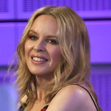 El maquillaje otoñal de Kylie Minogue