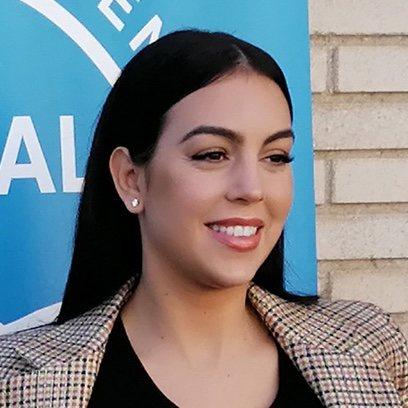 La melena ultralisa de Georgina Rodríguez