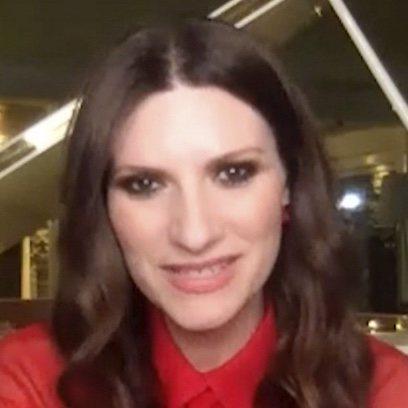 El beauty look de Laura Pausini para los Globos de Oro 2021