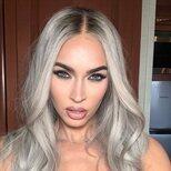 Megan Fox se anima a lucir pelo blanco
